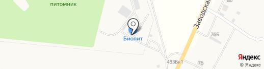 Биолит на карте Алтайского