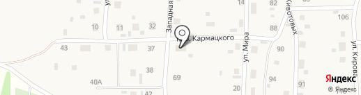 Ивушка на карте Советского