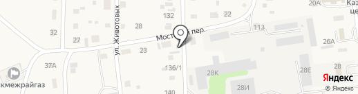 Продуктовый магазин на карте Советского