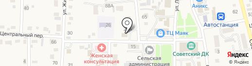 Фруктовый рай на карте Советского