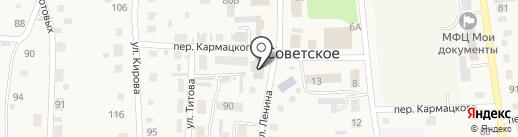 Судебный участок Советского района на карте Советского