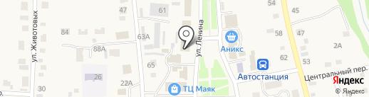Амалия на карте Советского