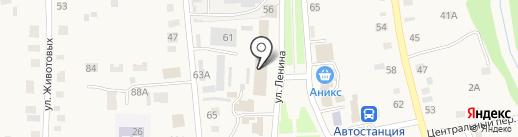 Семейный на карте Советского