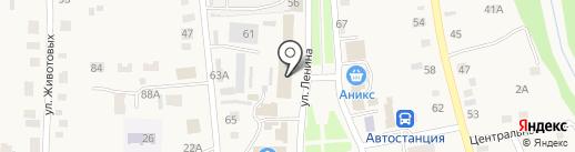 Низкие цены на карте Советского