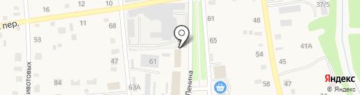 Магазин спецодежды на карте Советского