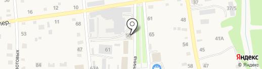 Барнаульский Молочный Комбинат на карте Советского