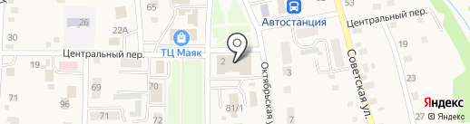 Советский дом культуры на карте Советского
