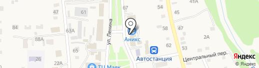 Росток на карте Советского