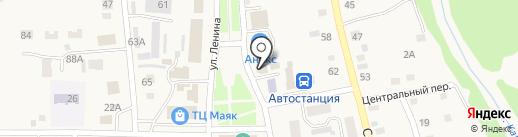 Садовник на карте Советского