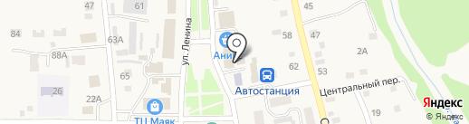 Мясная лавка на карте Советского