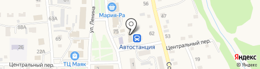 Алина на карте Советского