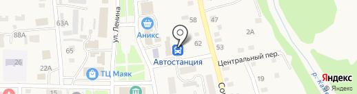 Автостанция на карте Советского