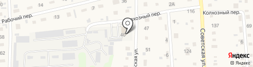 На страже мира, ЗАО на карте Советского