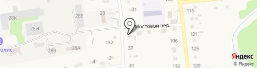 Продуктовый магазин №9 на карте Советского