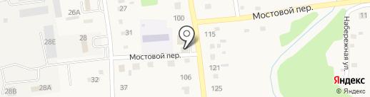 Гарни на карте Советского