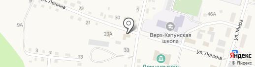 Леан на карте Верха-Катунского
