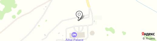 Altai Palace на карте Алтайского края
