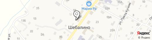 ПРАВО на карте Шебалино