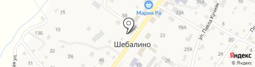 Салон оптики на карте Шебалино