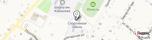 Шебалинская детско-юношеская спортивная школа на карте Шебалино