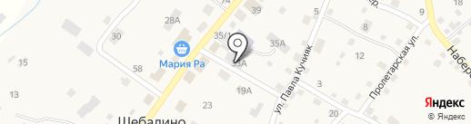 Диван-Диваныч на карте Шебалино