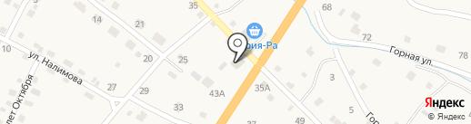 Корзинка Аяс 3 на карте Шебалино