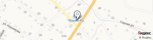 Мария-Ра на карте Шебалино