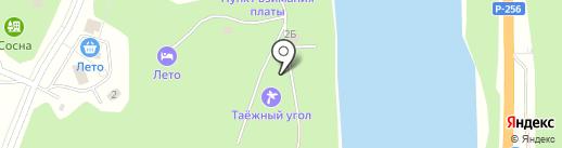 Тавдинская усадьба у Катуни на карте Алтайского края