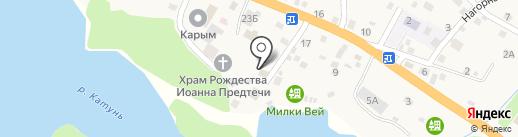 Администрация Усть-Мунинского сельского поселения на карте Усть-Мун