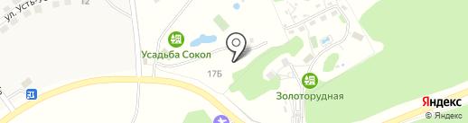 Сокол на карте Алтайского края