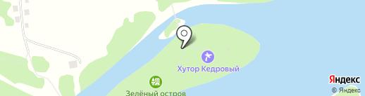 Зелёный остров на карте Алтайского края