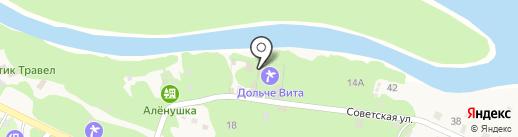 Дольче Вита на карте Катуни