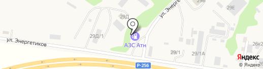 Олимп на карте Маймы