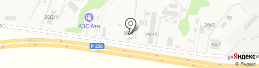 Магазин строительных материалов на карте Маймы