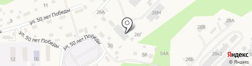 Производственная компания на карте Маймы
