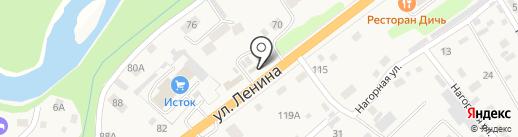 Заправка на карте Маймы