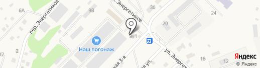 Рябинка на карте Маймы