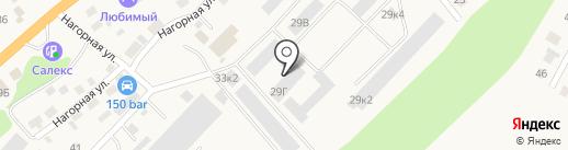 Агроснаб на карте Маймы