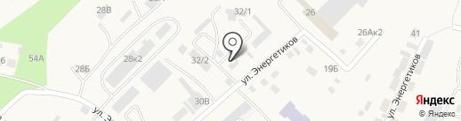 Русский медведь на карте Маймы