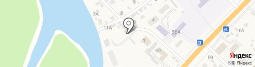 Клаксон на карте Маймы