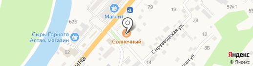 Тенториум на карте Маймы