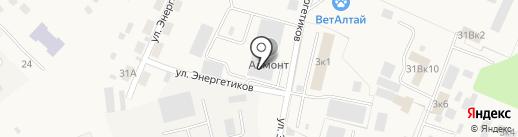 Алмонт на карте Маймы