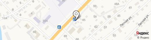 Чарыш на карте Маймы
