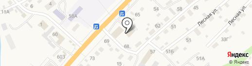 Управление пенсионного фонда РФ в Майминском районе на карте Маймы