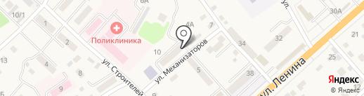 Чистюля на карте Маймы