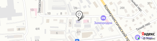 Горно-Алтайская городская общественная организация Всероссийского Общества Инвалидов на карте Горно-Алтайска