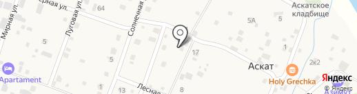 Родничка на карте Аската