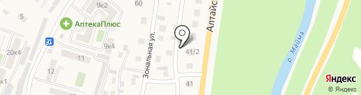 КБК Строй на карте Маймы