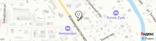 МАСТЕРок на карте Горно-Алтайска
