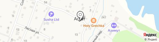 ГенМастер на карте Аската